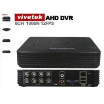 DVR Vivetek AHD 8 Canales CCTV 720 P 960 P 1080 P AHD