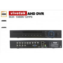 DVR Vivetek AHD 8 canales 1080p A8608NHS