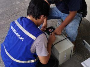 Caja Metálica para cctv con ventilador