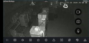 camara de video vigilancia